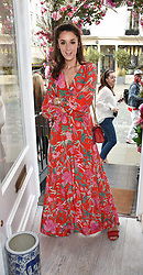 Rosanna Falconer at the launch of the Beulah Flagship store, 77 Elizabeth Street, London England. 16 May 2018.