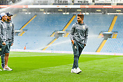Leeds United defender Gaetano Berardi (28) arrives at the ground during the EFL Sky Bet Championship match between Leeds United and Brentford at Elland Road, Leeds, England on 21 August 2019.