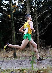 27-11-2011 ATLETIEK: NK CROSS 53e WARANDELOOP: TILBURG<br /> Khalid Choukoud die zijn cross-titel prolongeerde in 30:42<br /> ©2011-FotoHoogendoorn.nl