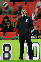 England U21/Portugal U21 European Under 21 Championship 14.11.09 <br /> Photo: Tim Parker Fotosports International<br /> Stuart Pearce England U21 manager 2009/10