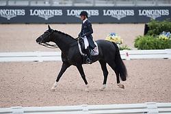 Verliefden Fanny, BEL, Indoctro vd Steenblok<br /> World Equestrian Games - Tryon 2018<br /> © Hippo Foto - Dirk Caremans<br /> 12/09/18