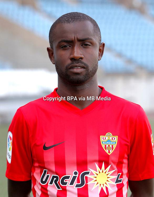 Spain - La Liga B 123 _ 2016-2017 / <br /> ( U.D. Almeria ) - <br /> Pape Maly Diamanka