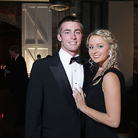 Alec Webster, left, and Paxton Webster pose for a picture during the Diamonds and Champagne Hope Ball Saturday November 22, 2014 at the Coastline Convention Center in Wilmington, N.C. (Jason A. Frizzelle)