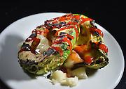 Boston MA 050914  For Quick Bite in Sunday Arts:  Grilled avocado dish from Audubon Boston photographed on May 8, 2014. (Essdras M Suarez/ Globe Staff)/ G