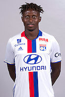 Mapou Yanga Mbiwa during the photocall of Lyon for new season of Ligue 1 on September 22nd 2016 in Lyon<br /> Photo : OL / Icon Sport