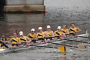Boston, USA, Club Women's eights,  Universtiy Of Iowa,  Eliot Bridge,   Head of the Charles, Race Charles River,  Cambridge,  Massachusetts. Saturday  20/10/2007 [Mandatory Credit Peter Spurrier/Intersport Images]...... , Rowing Course; Charles River. Boston. USA