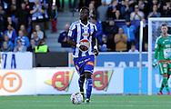 20.9.2015, Sonera stadion, Helsinki.<br /> Veikkausliiga 2015.<br /> Helsingin Jalkapalloklubi - Rovaniemen Palloseura.<br /> Gideon Baah - HJK