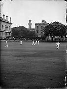 Cricket - Dublin University vs. North of Ireland at College Park.09/06/1958