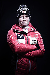 12.10.2019, Olympiahalle, Innsbruck, AUT, FIS Weltcup Ski Alpin, im Bild Claudia Purker // during Outfitting of the Ski Austria Winter Collection and the official Austrian Ski Federation 2019/ 2020 Portrait Session at the Olympiahalle in Innsbruck, Austria on 2019/10/12. EXPA Pictures © 2020, PhotoCredit: EXPA/ JFK