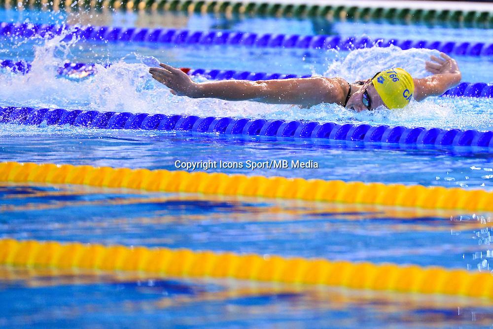 Solweig PICAULT - 200m Papillon - 02.04.2015 - Championnats de France de Natation 2015 a Limoges<br />Photo : Dave Winter / Icon Sport