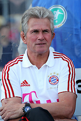 14.07.2011, Ernst-Abbe-Sportfeld, Jena, GER, Benefizspiel, Carl Zeis Jena vs FC Bayern im Bild..Trainer Jupp Heynckes (Bayern München)  ..  //during the freindlc match between Carl Zeis Jena - FC Bayern 2011/07/14   EXPA Pictures © 2011, PhotoCredit: EXPA/ nph/  Hessland       ****** out of GER / CRO  / BEL ******
