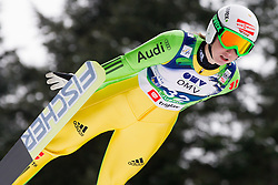 Svenja Wuerth of Germany during Normal Hill Individual Competition at FIS World Cup Ski jumping Ladies Ljubno 2012, on February 11, 2012 in Ljubno ob Savinji, Slovenia. (Photo By Vid Ponikvar / Sportida.com)