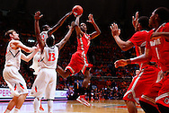 CHAMPAIGN, IL - JANUARY 05: Sam Thompson #12 of the Ohio State Buckeyes shoots the ball against the Illinois Fighting Illini at Assembly Hall on January 5, 2013 in Champaign, Illinois. Ilinois defeated Ohio State 74-55. (Photo by Michael Hickey/Getty Images) *** Local Caption *** Sam Thompson
