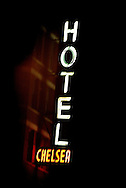 Chelsea Hotel New York. November 2004.<br /> Photograph Richard Robinson.<br /> 2004 &copy; New Zealand Herald A Division of APN New Zealand Ltd.<br /> No Reproduction without prior written permission. Contact www.newspix.co.nz to licence photograph.