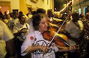 Olinda: Serenata, a musical walking that performs every saturday night.