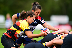 Charlotte Keane of Richmond ladies at the scrum - Mandatory by-line: Craig Thomas/JMP - 17/09/2017 - Rugby - Cleve Rugby Ground  - Bristol, England - Bristol Ladies  v Richmond Ladies - Women's Premier 15s