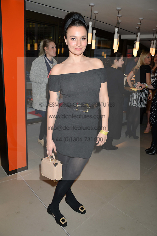 GIZZI ERSKINE at the launch of Broadgate Circle, City of London on 9th June 2015.