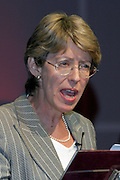 Patricia Hewitt MP, Secretary of State for Trade and Industry, speaking at the TUC..© Martin Jenkinson, tel/fax 0114 258 6808 mobile 07831 189363 email martin@pressphotos.co.uk. Copyright Designs & Patents Act 1988, moral rights asserted credit required. No part of this photo to be stored, reproduced, manipulated or transmitted to third parties by any means without prior written permission