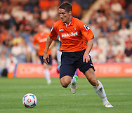 Picture by David Horn/Focus Images Ltd +44 7545 970036<br /> 23/07/2013<br /> Jon Shaw of Luton Town during the Pre Season Friendly match at Kenilworth Road, Luton.