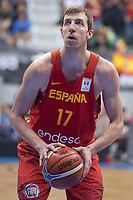 Spain Fran Vazquez during FIBA European Qualifiers to World Cup 2019 between Spain and Slovenia at Coliseum Burgos in Madrid, Spain. November 26, 2017. (ALTERPHOTOS/Borja B.Hojas)