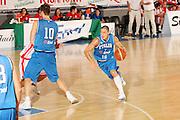DESCRIZIONE : Bormio Torneo Internazionale Gianatti Italia Austria <br /> GIOCATORE : Fabio Di Bella<br /> SQUADRA : Nazionale Italiana Uomini<br /> EVENTO : Bormio Torneo Internazionale Gianatti <br /> GARA : Italia Austria <br /> DATA : 31/07/2007 <br /> CATEGORIA : Palleggio <br /> SPORT : Pallacanestro <br /> AUTORE : Agenzia Ciamillo-Castoria/S.Silvestri