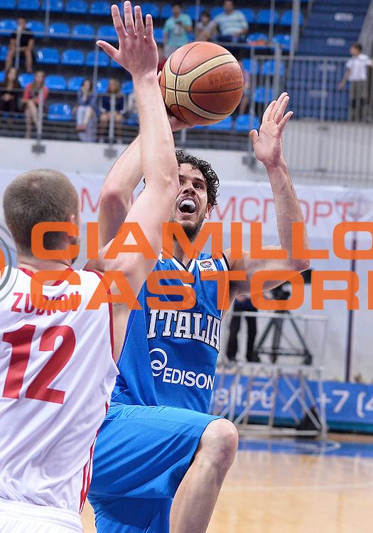 DESCRIZIONE : Mosca Moscow Qualificazione Eurobasket 2015 Qualifying Round Eurobasket 2015 Russia Italia Russia Italy<br /> GIOCATORE : Luca Vitali<br /> CATEGORIA :  <br /> EVENTO : Mosca Moscow Qualificazione Eurobasket 2015 Qualifying Round Eurobasket 2015 Russia Italia Russia Italy<br /> GARA : Russia Italia Russia Italy<br /> DATA : 13/08/2014<br /> SPORT : Pallacanestro<br /> AUTORE : Agenzia Ciamillo-Castoria/R.Morgano<br /> Galleria: Fip Nazionali 2014<br /> Fotonotizia: Mosca Moscow Qualificazione Eurobasket 2015 Qualifying Round Eurobasket 2015 Russia Italia Russia Italy<br /> Predefinita :