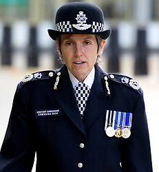 © Licensed to London News Pictures. FILE PICTURE:11/09/2011. London, UK. Former assistant Commissioner Cressida Dick attends the ceremony for  the tenth anniversary of the September 11th terror attacks. The Met Police has appointed it's first female chief Cressida Dick. Photo credit: Joel Goodman/LNP
