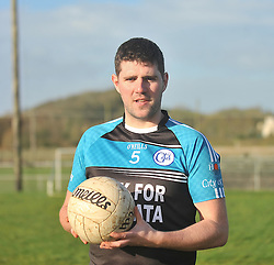 Kevin O'Riordan from Tipperary pictured at Westport GAA club on his Kick for Kolkata challenge in aid of the Hope Foundation.<br /> Pic Conor McKeown