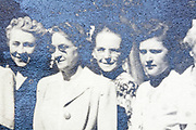 female family group portrait 1948