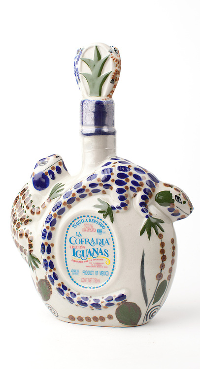 La Cofradia Reposado Edicion Iguanas -- Image originally appeared in the Tequila Matchmaker: http://tequilamatchmaker.com
