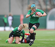 Ireland women's Anna Caplice<br /> <br /> Photographer Mike Jones/Replay Images<br /> <br /> International Friendly - Wales women v Ireland women - Sunday 21st January 2018 - CCB Centre for Sporting Excellence - Ystrad Mynach<br /> <br /> World Copyright © Replay Images . All rights reserved. info@replayimages.co.uk - http://replayimages.co.uk
