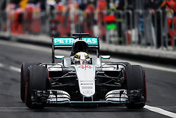 Lewis Hamilton (GBR) Mercedes AMG F1 W07 Hybrid.<br /> 28.10.2016. Formula 1 World Championship, Rd 19, Mexican Grand Prix, Mexico City, Mexico, Practice Day.<br /> Copyright: Moy / XPB Images / action press