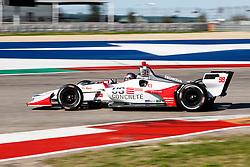 February 12, 2019 - U.S. - AUSTIN, TX - FEBRUARY 12: Marco Andretti (98) in a Honda powered Dallara IR-12 at turn 12 during the IndyCar Spring Training held February 11-13, 2019 at Circuit of the Americas in Austin, TX. (Photo by Allan Hamilton/Icon Sportswire) (Credit Image: © Allan Hamilton/Icon SMI via ZUMA Press)