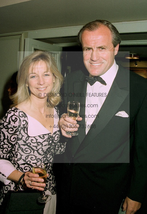 MR &amp; MRS JUSTIN CADBURY at a reception in London on 12th June 1997.<br /> LZH 80
