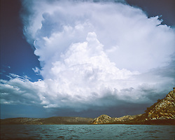 Dramatic storms over Dugong Bay in the Kimberley wet season.