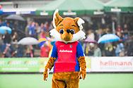 BILTHOVEN  - Hockey -  1e wedstrijd Play Offs dames. SCHC-Den Bosch (0-1). Mascotte  (SCHC) .  COPYRIGHT KOEN SUYK