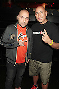New York, NY-June 13 : (L-R) On Air-Personality Peter Rosenberg and Chang Weisberg, Founder, Guerrilla Union attends The ROCK THE BELLS FESTIVAL SERIES Press Conference and Launch Party produced in association with Boost Mobile and Guerrilla Union powered by Blackberry held at the Santos Party House on June 14, 2012 in New York City. Established in 2000, Guerilla Union has developed into one of the premiere core urban lifestyle brands in the U.S., manifesting itself in many forms including music, events, media and fashion. Guerilla Union's mission is to create experiential platforms, unique content and provide services that develop artists and their communities. (Photo by Terrence Jennings)