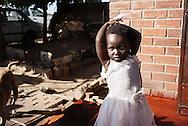 Zimbabwe, pige i kjole
