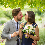 Claire and Max - Conservatory Garden, NY