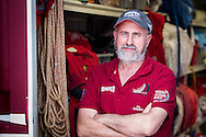 United States, Miami.16th May 2012. Volvo Ocean Race. , Adam Minoprio Camper with Emirates Team New Zealand.