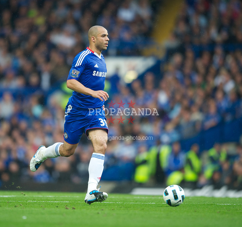 LONDON, ENGLAND - Saturday, August 14, 2010: Chelsea's Alex during the Premiership match against West Bromwich Albion at Stamford Bridge. (Pic by: Chris Brunksill/Propaganda)