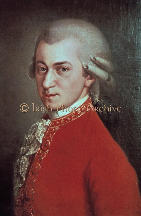 Wolfgang Amadeus Mozart (1756-1791), c1780.     Austrian composer.