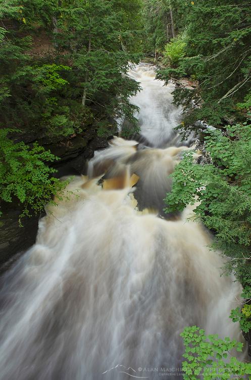Presque Isle River Mountains Wilderness State Park Michigan