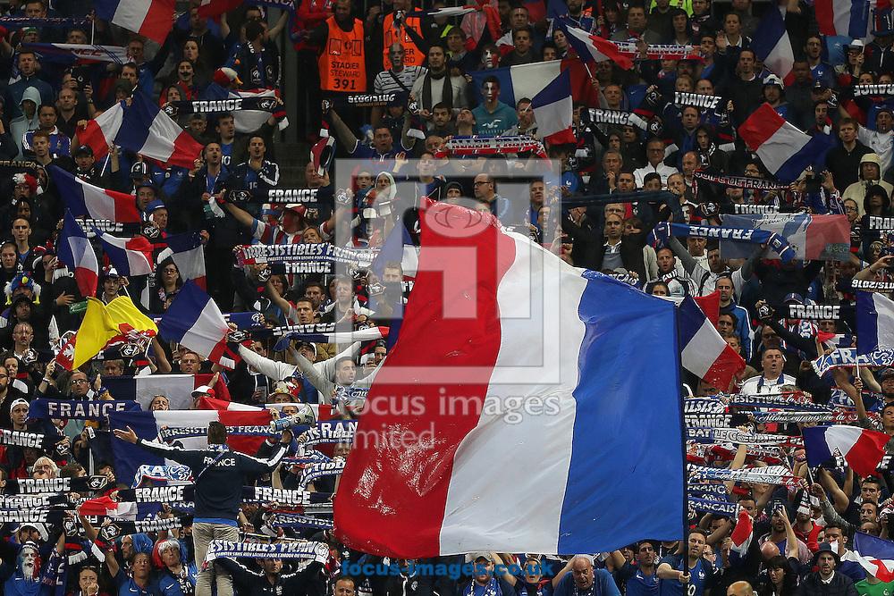 France fans during the quarter final match at Stade de France, Paris<br /> Picture by Paul Chesterton/Focus Images Ltd +44 7904 640267<br /> 03/07/2016