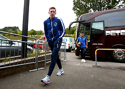 Joe Partington of Bristol Rovers arrives at Adam's Park for the Checkatrade Trophy Match against Wycombe Wanderers - Mandatory by-line: Robbie Stephenson/JMP - 29/08/2017 - FOOTBALL - Adam's Park - High Wycombe, England - Wycombe Wanderers v Bristol Rovers - Checkatrade Trophy