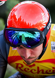 17.12.2016, Nordische Arena, Ramsau, AUT, FIS Weltcup Nordische Kombination, Skisprung, im Bild Johannes Rydzek (GER) // Johannes Rydzek of Germany during Skijumping Competition of FIS Nordic Combined World Cup, at the Nordic Arena in Ramsau, Austria on 2016/12/17. EXPA Pictures © 2016, PhotoCredit: EXPA/ Martin Huber