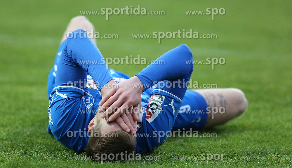 01.05.2015, Sportplatz FAC, Wien, AUT, 2. FBL, Floridsdorfer AC vs KSV 1919, 31. Runde, im Bild Michael Pittnauer (Floridsorfer AC) // during Austrian Football Second Bundesliga Match, 31th round, between Floridsdorfer AC and KSV 1919 at the Sportplatz FAC, Vienna, Austria on 2015/05/01. EXPA Pictures © 2015, PhotoCredit: EXPA/ Alexander Forst