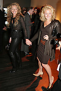 KELLY HOPPEN AND NATASHA CORRETT. Dali and Film. Tate Modern. 30 May 2007.  -DO NOT ARCHIVE-© Copyright Photograph by Dafydd Jones. 248 Clapham Rd. London SW9 0PZ. Tel 0207 820 0771. www.dafjones.com.