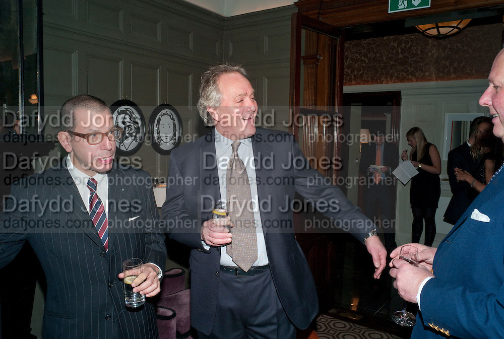 JONATHAN NEWHOUSE; HENRY PORTER, Graydon and Anna Carter host a lunch for Carolina Herrera to celebrate the ipening of her new shop on Mount St. .The Connaught. London. 20 January 2010