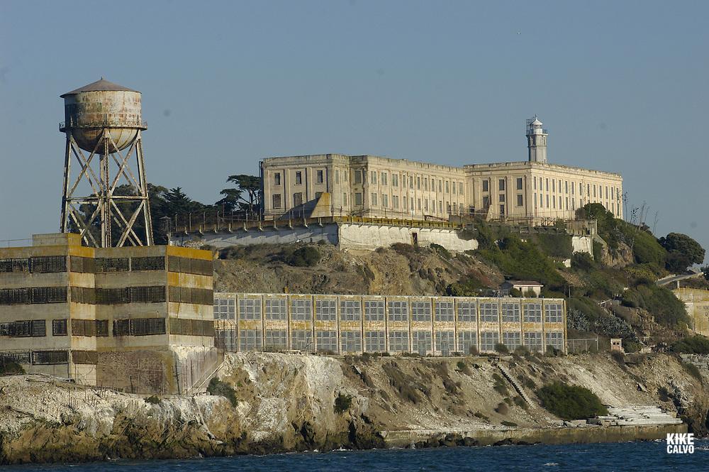 Alcatraz Prison. San Francisco Bay, California, United States.